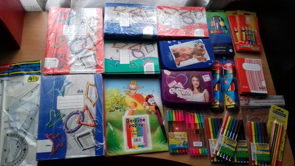 Zbierka školských pomôcok