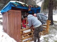 Príprava na Vianoce v nízkoprahovom dennom centre v Rožňave
